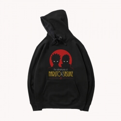 Black Jacket Japanese Anime Naruto Hoodie