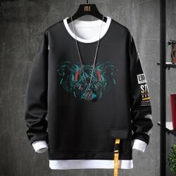 Hatsune Miku Sweater Fake Two-Piece Sweatshirts