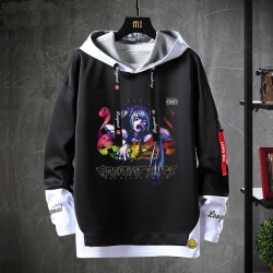 Hatsune Miku Sweatshirt Black Luo Tianyi Jacket