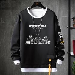 Undertale Hoodie Fake Two-Piece Annoying Dog Skull Sweatshirt