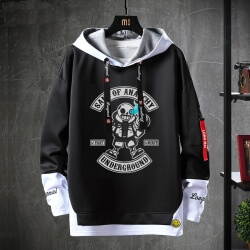 Hot Topic Annoying Dog Skull Hoodie Undertale Sweatshirt
