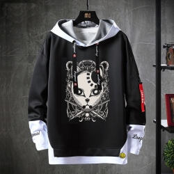 Demon Slayer Sweatshirts Anime Black Jacket
