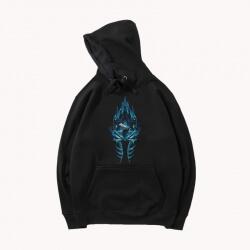 WOW Game Hooded Coat Black Coat