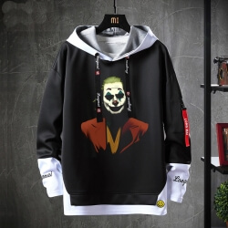 Batman Joker Sweatshirts Black Tops