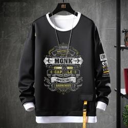 Fake Two-Piece Tops World Warcraft Sweatshirts