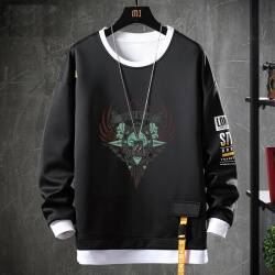 WOW World Of Warcraft Sweatshirts Black Hoodie