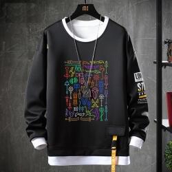 WOW World Of Warcraft Coat Fake Two-Piece Sweatshirts