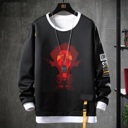 Warcraft Sweatshirts Black Tops