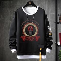 WOW Classic Tops Fake Two-Piece Sweatshirts