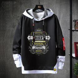 Blizzard WOW Sweatshirt Black Coat