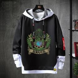 WOW Game Sweatshirt Black Jacket