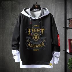 Fake Two-Piece Sweater Warcraft Sweatshirts