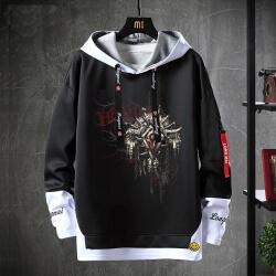 Fake Two-Piece Sweatshirt World Warcraft Sweater