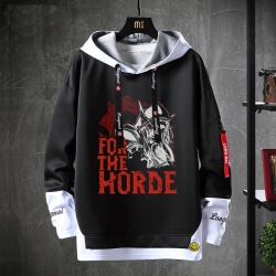 WOW World Of Warcraft Sweatshirts Black Sweater