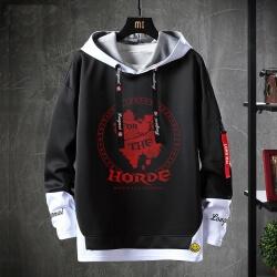 Blizzard WOW Jacket Fake Two-Piece Sweatshirts
