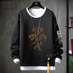 World Warcraft Sweatshirts Black Hoodie
