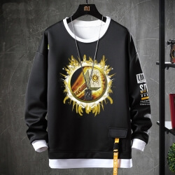 Fake Two-Piece Sweatshirts WOW World Of Warcraft Tops