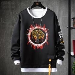 Blizzard WOW Sweatshirts Black Tops