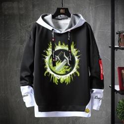 Blizzard WOW Coat Fake Two-Piece Sweatshirt