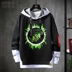 Fake Two-Piece Coat World Of Warcraft Sweatshirts