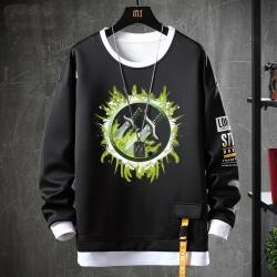 World Of Warcraft Tops Fake Two-Piece Sweatshirts