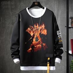Fake Two-Piece Sweatshirts WOW Game Hoodie