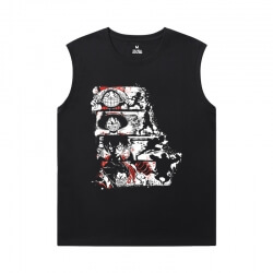 One Piece Tees Anime Cool Men Sleeveless Tshirt