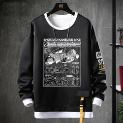 Akira Sweater Fake Two-Piece Sweatshirts