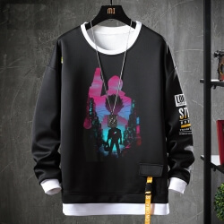 Fake Two-Piece Sweatshirts Akira Jacket