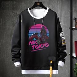 Akira Coat Fake Two-Piece Sweatshirt