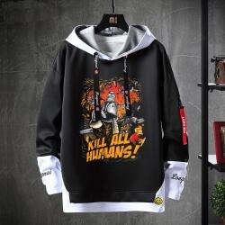 Fake Two-Piece Sweatshirts American Anime Futurama Hoodie