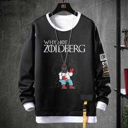 American Anime Futurama Hoodie Fake Two-Piece Sweatshirt