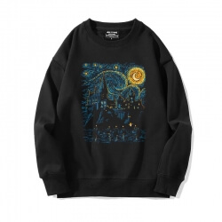 Quality Starry Sky Sweatshirts Famous Painting Hoodie