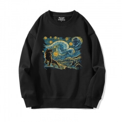 Famous Painting Sweatshirt XXL Starry Sky Hoodie