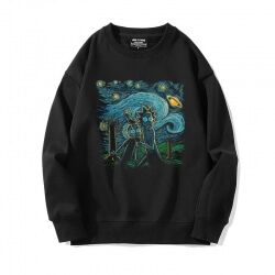 Famous Painting Sweater Cool Starry Sky Sweatshirt