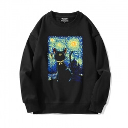 Hot Topic Starry Sky Sweater Famous Painting Sweatshirts