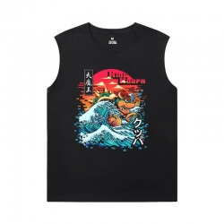 Mario Tee Shirt Cotton Men'S Sleeveless T Shirts Cotton