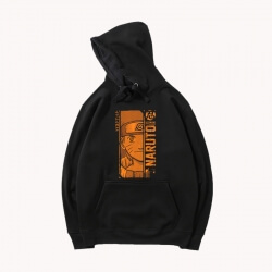 Vintage Anime Naruto Hoodie Quality Hooded Jacket