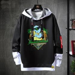 Pokemon Jacket Fake Two-Piece Squirtle Sweatshirt