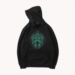 Pullover Hoodie Call of Cthulhu Hooded Coat