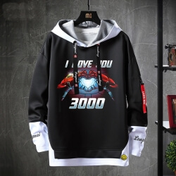 The Avengers Hoodies Marvel Iron Man Jacket