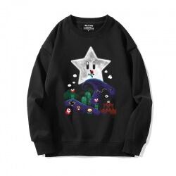 Mario Sweater Crew Neck Sweatshirts
