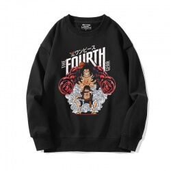 Hot Topic Luffy Sweater Vintage Anime One Piece Sweatshirts