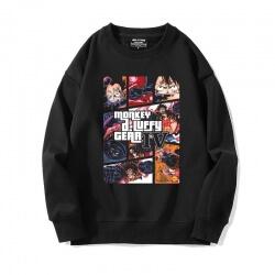 One Piece Sweatshirts Hot Topic Anime Personalised Luffy Jacket