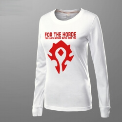 World of Warcraft For the Horde T-shirt for women