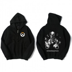 Zenyatta Overwatch Zip Up Hoodie Merchandise
