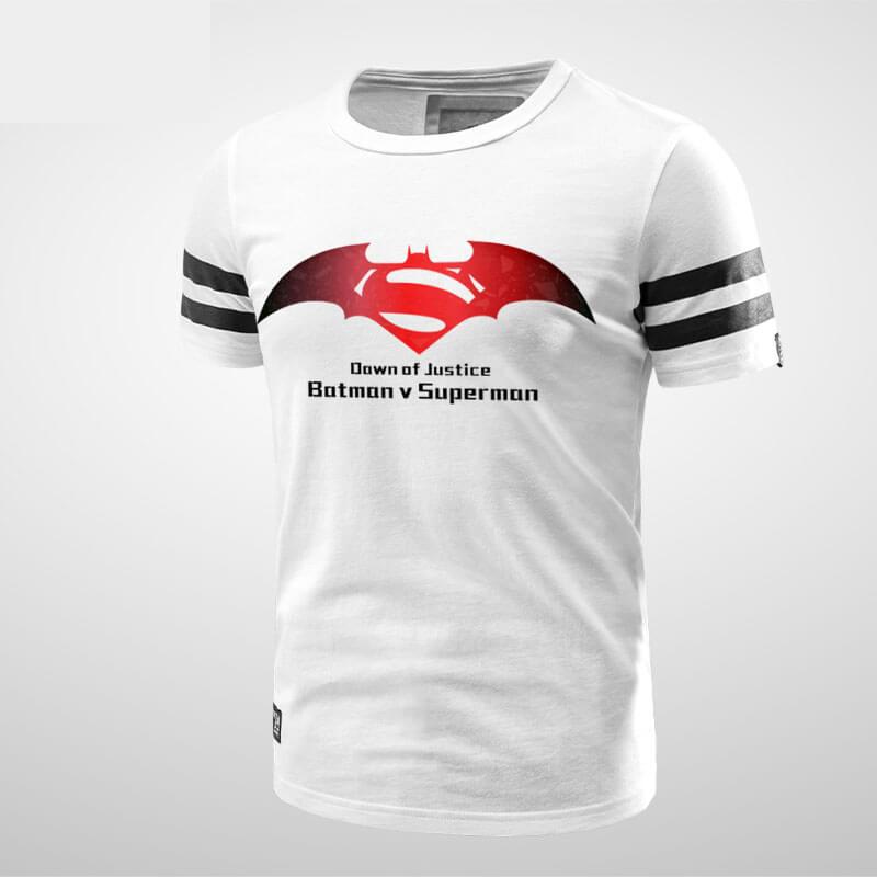 Superman Vs Batman Symbol Tee Shirt Wishiny