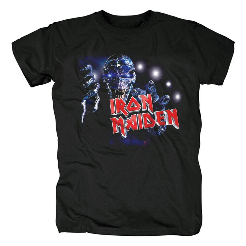 Uk Metal Band Tees Iron Maiden The Final Frontier T-Shirt