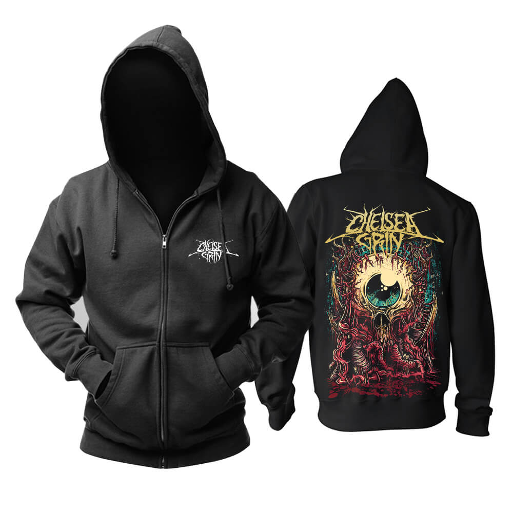 Unique Chelsea Grin Hoodie United States Music Sweatshirts