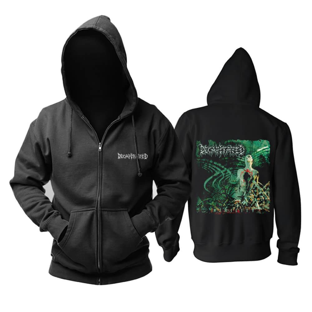 Unique Decapitated Nihility Hoodie Poland Metal Music Sweatshirts